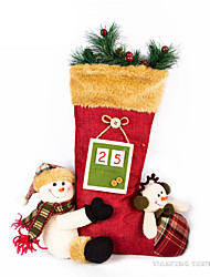 cheap -Christmas Decorations Snowman Lovely Furnishing Articles Textile Imaginative Play, Stocking, Great Birthday Gifts Party Favor Supplies Boys' Girls' Adults'