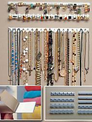 cheap -Plastic Oval Travel Home Organization, 1pc Jewelry Organizers