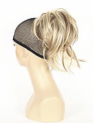 Недорогие -Конские хвостики Искусственные волосы Волосы Наращивание волос Прямой Короткие
