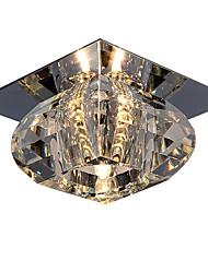 """cheap -1-Light LightMyself™ 10(4"""") Crystal / Mini Style Flush Mount Lights Chrome Modern Contemporary 110-120V / 220-240V / G4"""