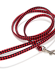 cheap -Dog Leash Adjustable / Retractable Handmade Solid Colored PU Leather Red Green Pink