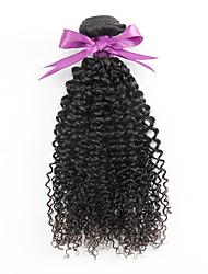 cheap -Hair Weaves Mongolian Hair Kinky Curly Human Hair Extensions Virgin Human Hair Natural Color Hair Weaves / Hair Bulk / 10A