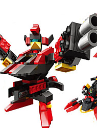 cheap -GUDI GUDI9908 Action Figure Building Blocks Construction Set Toys Warrior Robot compatible Legoing Cool Chic & Modern Cartoon Boys' Girls' Toy Gift / Educational Toy