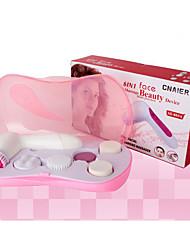 Недорогие -(6 в 1) многофункциональный электрический массаж лица очиститель для лица и тела отшелушивающий скраб устройство красоты