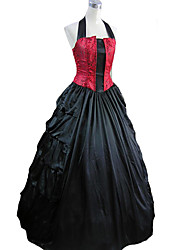 cheap -Victorian Medieval Dress Party Costume Masquerade Women's Party Prom Japanese Cosplay Costumes Vintage Sleeveless Long Length