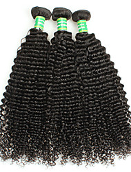 cheap -Unprocessed Human Hair / Remy Human Hair Remy Weaves Curly / Classic / Kinky Curly Brazilian Hair 300 g 1 Year Daily