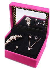 cheap -Women's Crystal AAA Cubic Zirconia Jewelry Set Butterfly, Animal Include Gold / Silver For Wedding Party Daily / Rings