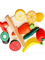cheap -Pretend Play Stress Reliever Wood Apple Professional Lovely Novelty Kid's Adults' Boys' Girls' Toys Gifts