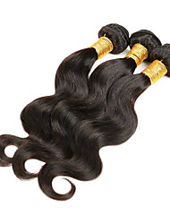 cheap -3 Bundles Hair Weaves Brazilian Hair Body Wave Human Hair Extensions Human Hair Natural Color Hair Weaves / Hair Bulk / 8A