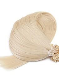 cheap -Neitsi Fusion / U Tip Human Hair Extensions Straight Ombre Human Hair Extensions Human Hair Women's