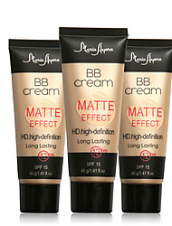 cheap -Single Colored Cream BB Cream Wet / Mineral Whitening / Moisture / Coverage Face China Makeup Cosmetic