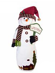 cheap -Snowman Christmas Decorations Cartoon Fashion High Quality Lovely Textile Girls' Boys' Gift