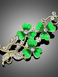 cheap -Women's Brooches Stylish Brooch Jewelry Green For Party Dailywear Daily Casual