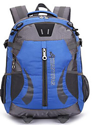 cheap -30 L Hiking Backpack Cycling Backpack Commuter Backpack Waterproof Breathable Shockproof Outdoor Camping / Hiking Climbing Leisure Sports Oxford Blue Green Black