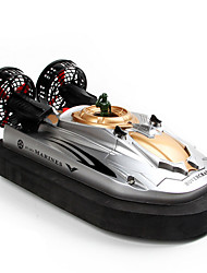 cheap -RC Boat HT-2876 Hovercraft Plastic Channels 3km/h-6km/h KM/H
