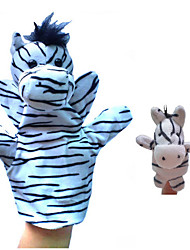 cheap -Finger Puppets Stuffed Animal Plush Toys Plush Dolls Stuffed Animal Plush Toy Horse Zebra Animals Novelty Plush Imaginative Play, Stocking, Great Birthday Gifts Party Favor Supplies Boys' Girls'