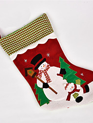 cheap -Socks Santa Suits Snowman Christmas Decorations Christmas Gift Lovely Cartoon High Quality Fashion Textile Boys' Girls' Toy Gift