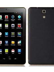Недорогие -735 7 дюймовый Фаблет (Android 4.4 1024 x 600 Dual Core 512MB+8Гб) / 32 / TFT / Micro USB / Количество SIM-карт / Слот для карт памяти TF