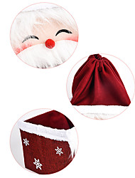 cheap -Christmas Decorations Lovely Textile Imaginative Play, Stocking, Great Birthday Gifts Party Favor Supplies Boys' Girls' Adults'