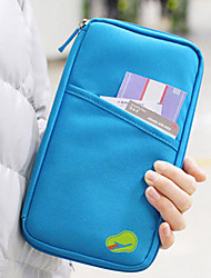 cheap -1pc Travel Organizer Travel Wallet Passport Holder & ID Holder Large Capacity Waterproof Portable for Clothes Fabric / Solid Colored Travel / Durable