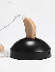 Недорогие -цифровой аккумуляторная слуховые помощь звук Усиление голоса усилитель глухой помощь ЕС адаптер