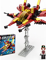 cheap -GUDI Action Figure Building Blocks Construction Set Toys Fighter Aircraft compatible Legoing Boys' Girls' Toy Gift / Educational Toy