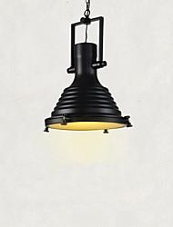 Недорогие -CXYlight 40(15.7'') Мини Подвесные лампы Металл Стекло Окрашенные отделки Деревенский стиль / Винтаж / Ретро 110-120Вольт / 220-240Вольт