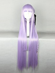 cheap -Synthetic Wig Cosplay Wig Straight Straight Wig Purple Synthetic Hair Women's Braided Wig African Braids Purple hairjoy