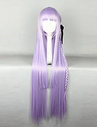 Недорогие -Парики из искусственных волос Маскарадные парики Прямой Прямой силуэт Парик Фиолетовый Искусственные волосы Жен. Парик с косичками Африканские косички Фиолетовый hairjoy