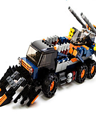 cheap -GUDI Action Figure Building Blocks Construction Set Toys Tank Machine Robot compatible Legoing Boys' Girls' Toy Gift / Educational Toy