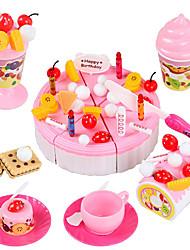 Недорогие -Ролевые игры Play Kitchen Торты Формы для нарезки печенья и тортов Оригинальные пластик Детские Мальчики Девочки Игрушки Подарок