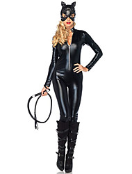 cheap -Animal / Movie / TV Theme Costumes / Uniforms Cosplay Costume Sexy Uniforms Women's Patent Leather Cosplay Accessories Halloween / Carnival / Oktoberfest Beer Costumes
