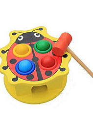 cheap -Hammering / Pounding Toy Baby & Toddler Toy Stress Reliever Lovely Novelty Education Wooden Wood Kid's Boys' Girls' Toy Gift