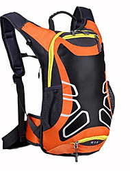 cheap -20 L Hiking Backpack Breathable Straps - Waterproof Breathable Shockproof Outdoor Camping / Hiking Climbing Leisure Sports Nylon Black Orange Blue