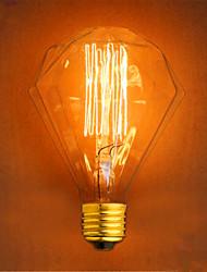 cheap -1pc 40 W E26 / E27 G95 Warm White 2300 k Retro / Decorative Incandescent Vintage Edison Light Bulb 220-240 V
