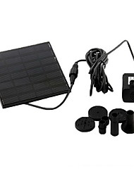cheap -Aquarium Water Pump Solar Plastic 1.2W