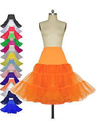 cheap -Wedding / Special Occasion / Party / Evening Slips Polyester / Tulle / Lycra Knee-Length Classic & Timeless with