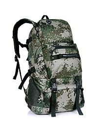Недорогие -40 L Заплечный рюкзак Многофункциональный Дышащий Дожденепроницаемый Защита от пыли На открытом воздухе Отдых и Туризм Восхождение Спорт в свободное время Черный Красный Серый