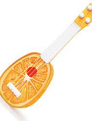 abordables -enfants oranges guitare fruits de bande dessinée / plastique / jouet en plein air / musique jouet