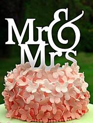 Недорогие -Аксессуары для тортов Акрил Свадебные украшения День рождения / Свадебные прием Весна / Лето / Осень