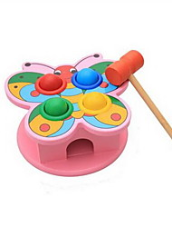 cheap -Hammering / Pounding Toy Baby & Toddler Toy Stress Reliever Lovely Novelty Education Wooden Classic & Timeless Kid's Boys' Girls' Toy Gift