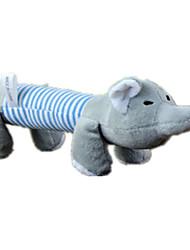 cheap -Plush Toy Squeaking Toy Dog Puppy Pet Toy Cartoon Squeak / Squeaking Cotton Gift