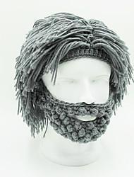 Недорогие -Парики из искусственных волос Прямой Прямой силуэт Парик Короткие Серый Искусственные волосы Муж. Серый OUO Hair