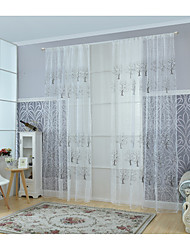 cheap -Modern Sheer Curtains Shades One Panel Living Room   Curtains