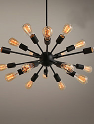 cheap -18 Bulbs Ecolight™ 75 cm Designers Chandelier Metal Sputnik Painted Finishes Traditional / Classic 110-120V / 220-240V