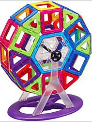 Недорогие -1 pcs Магнитные игрушки Магнитный конструктор Магнитные плитки Магнитные игрушки Конструкторы пластик Милый Детские / Взрослые Мальчики Девочки Игрушки Подарок