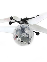 cheap -Flying Gadget Balls Light Up Toy Plane / Aircraft Diamond Lighting Novelty Metalic Plastic Boys' Girls' Toy Gift 1 pcs