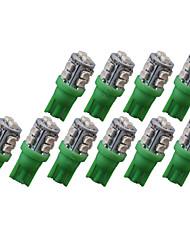 cheap -SO.K 10pcs T10 Car Light Bulbs SMD 3528 80 lm 10 Exterior Lights