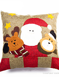 cheap -Santa Suits Snowman Christmas Decorations Christmas Gift Cushion Lovely Cartoon High Quality Fashion Textile Boys' Girls' Toy Gift