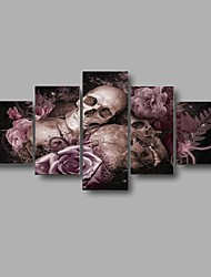cheap -Print Abstract / Still Life Style / Modern Five Panels
